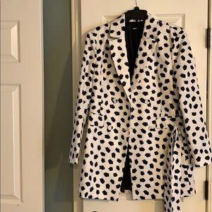 Dalmatian print jacket